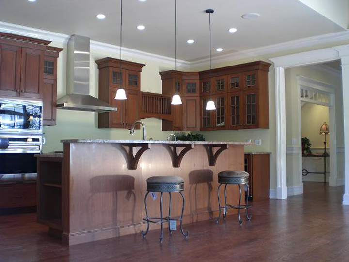BuiltMark LLC Residential And Commercial Contracting Major - Over the counter kitchen lights